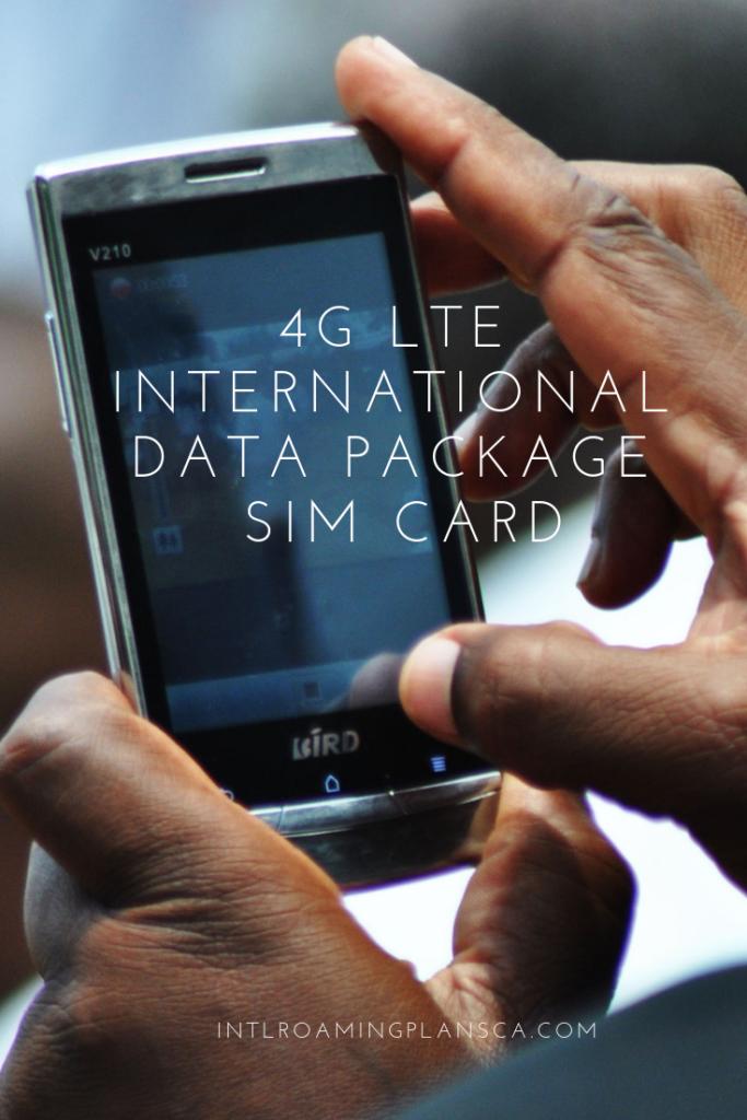 4G Lte Sim Card Data Plan – Icalliance